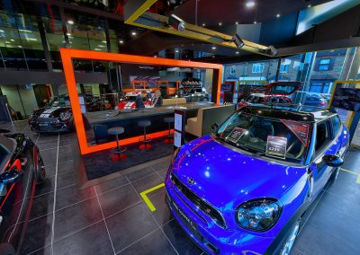 HDR Dealership Photography - MINI