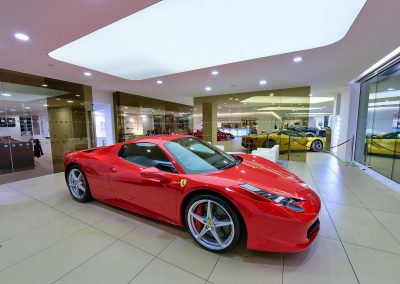 HDR Dealership Photography - Ferrari