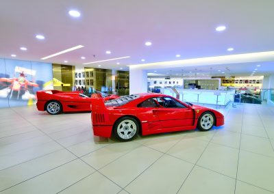 HDR Dealership Photography - Maranello