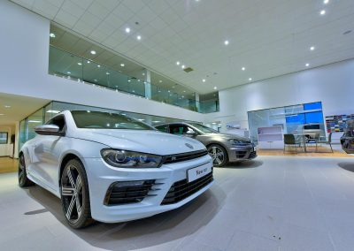 HDR Dealership Photography - VW