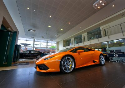 HDR Dealership Photography - Lamborghini