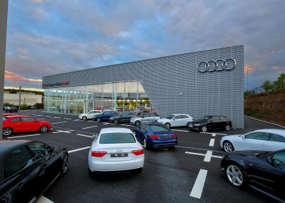 HDR Dealership Photography - Audi