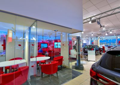 HDR Dealership Photography - Toyota