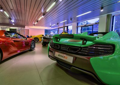 HDR Dealership Photography - McLaren
