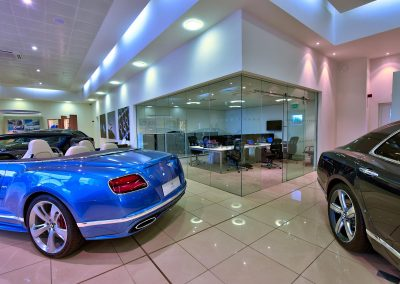HDR Dealership Photography - Bentley
