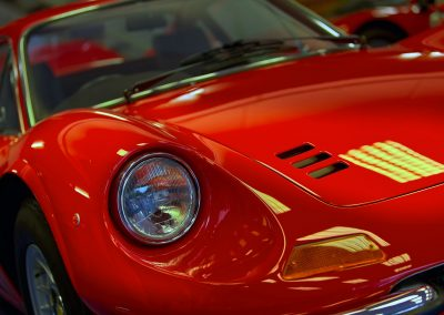 HDR Dealership Photography - Ferrari