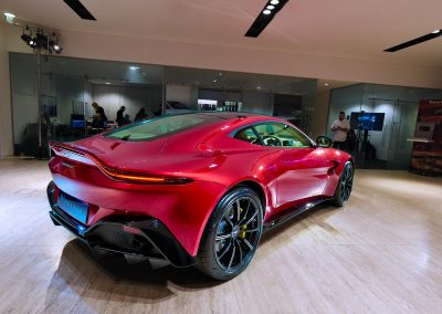 HDR Dealership Photography - Aston Martin