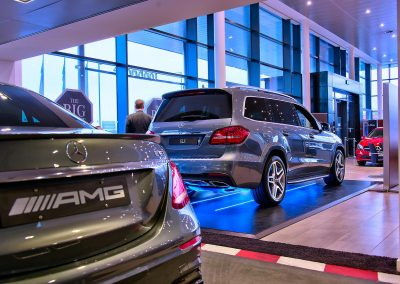 HDR Dealership Photography - Mercedes