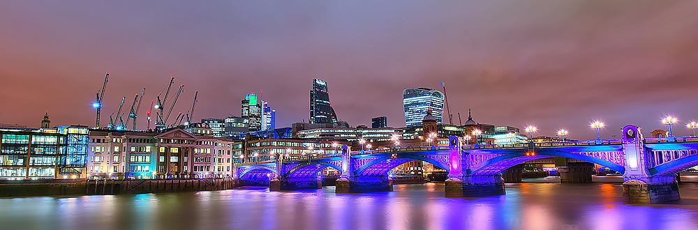 HDR Image of London City