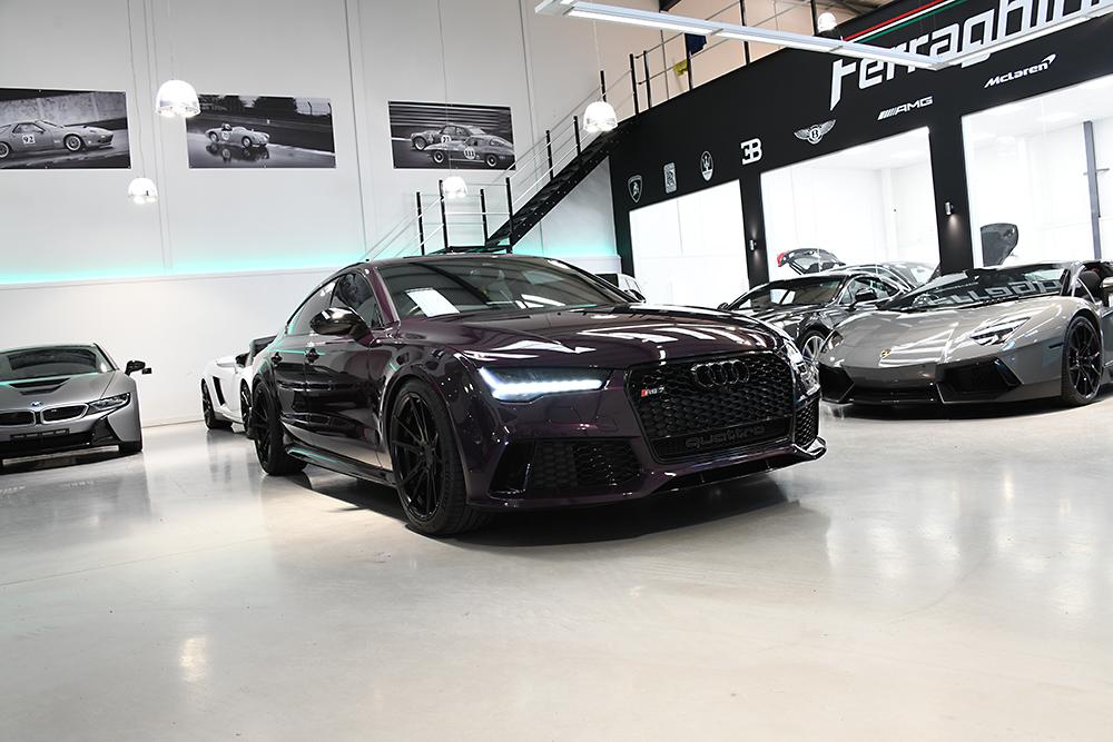 Traditional photographic image - Audi