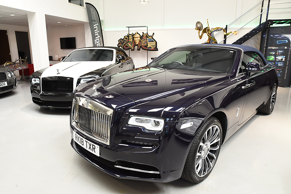 Traditional photographic image - Rolls Royce