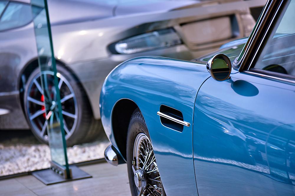 HDR photographic image - Aston Martin