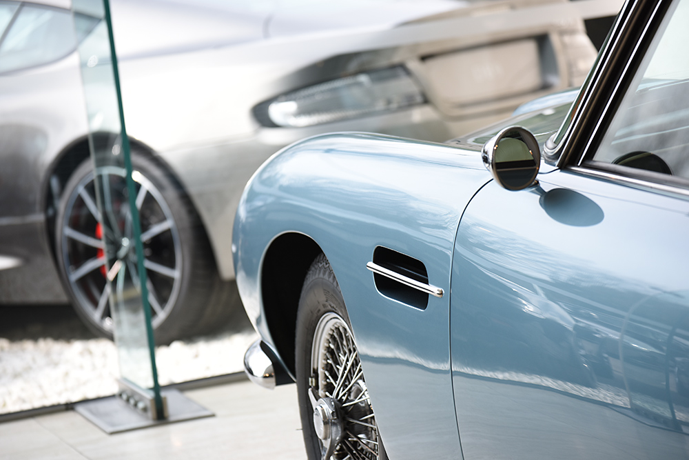 Traditional photographic image - Aston Martin
