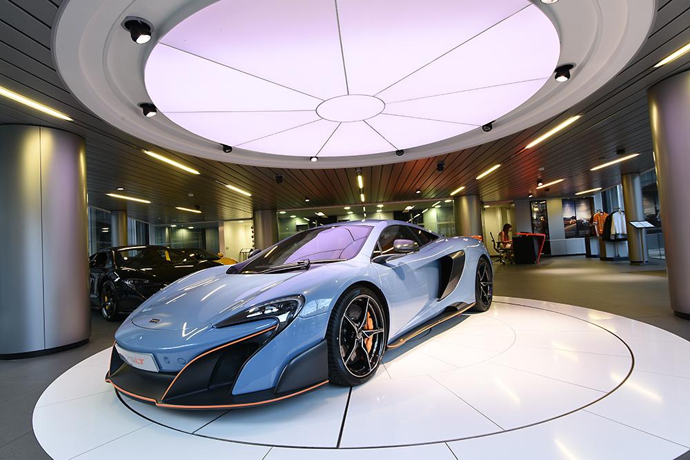 Traditional photographic image - McLaren 2