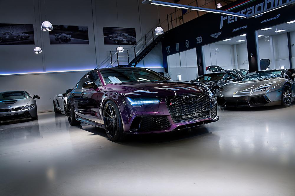 HDR photographic image - Audi