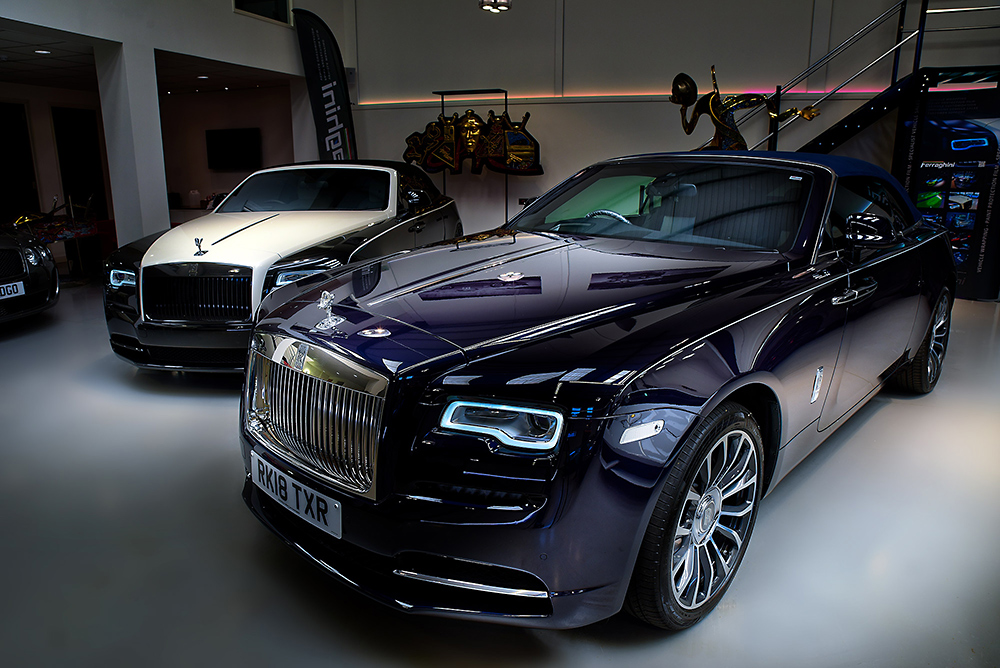 HDR photographic image - Rolls Royce