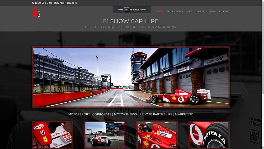 F1Show Car Hire