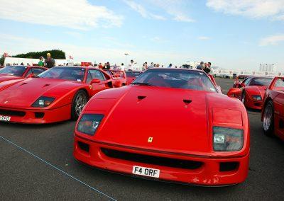 Ferrari F40 At Silverstone Event Photography