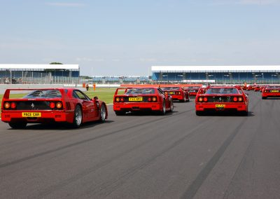 Ferrari F40 At Silverstone Event Photography
