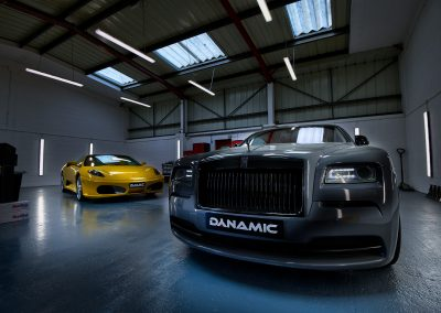 Dynamic Modifications   Vehicle Wrapping   Vehicle Paint Protection   Vehicle Modifications