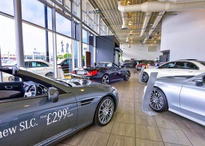 Mercedes | Mercedes Dealers | Automotive Photography | HDR