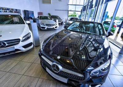 Mercedes | Mercedes Dealers | Automotive Photography | HDR