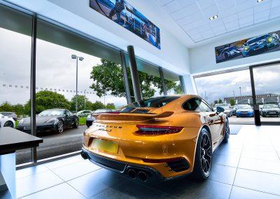 Chester Porsche | Automotive Photography | HDR | Dealership Photography | Porsche