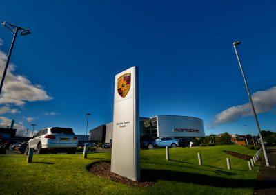 Porsche Centre Chester | HDR Photography | Automotive Photography