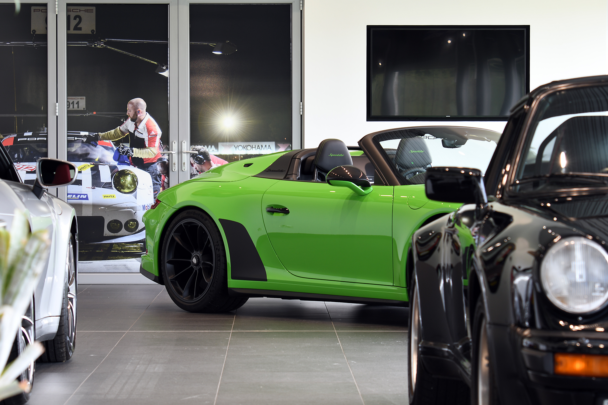 Traditional photographic image - Porsche 8