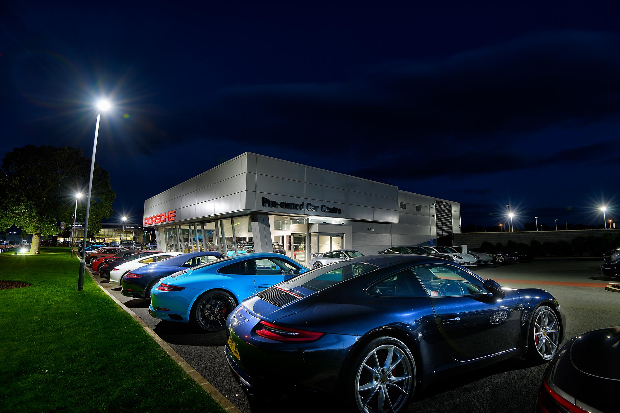 HDR photographic image - Porsche 3