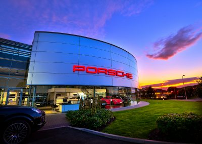 Chester Porsche | Automotive Photography | HDR | Dealership Photography | Porsche