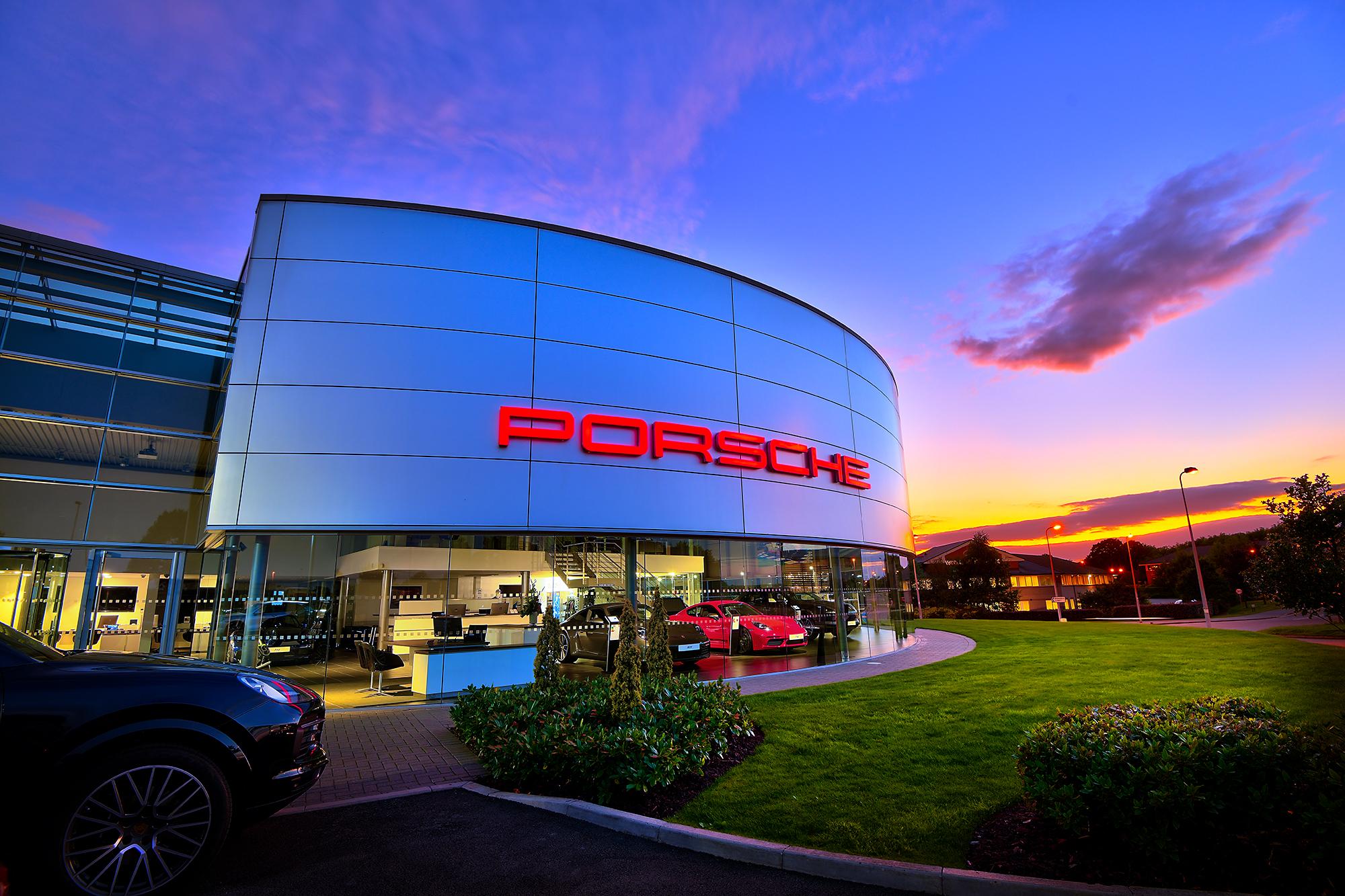 HDR photographic image - Porsche 6