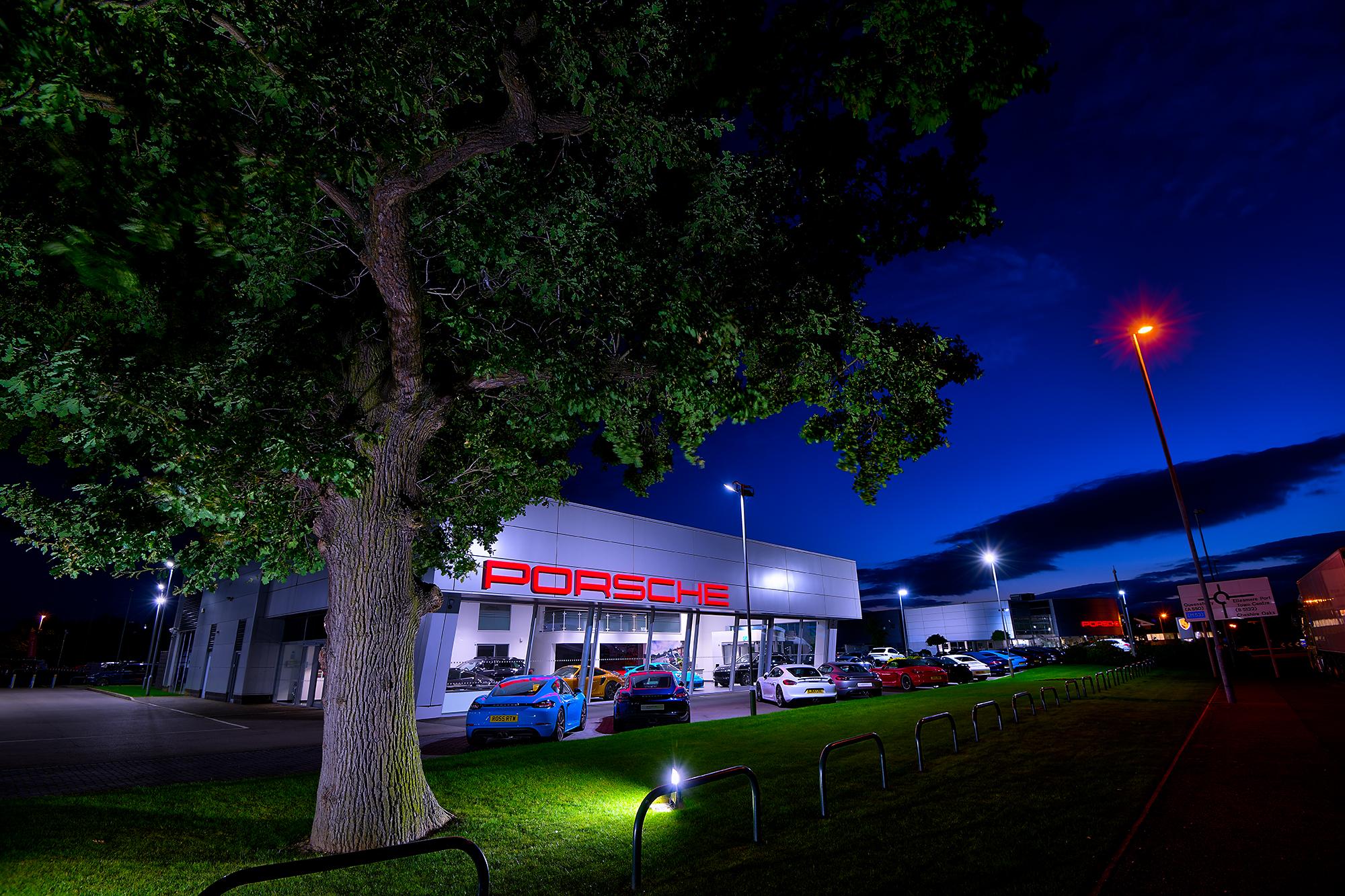 HDR photographic image - Porsche