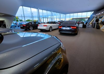 Tunbridge Wells Audi | Motorline | Inchcape | Automotive Photography | Dealership Photography