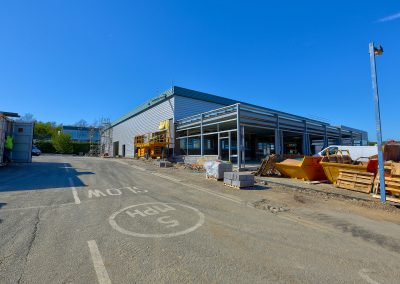Audi Tunbridge Wells | Construction Photography | Development Photography | HDR