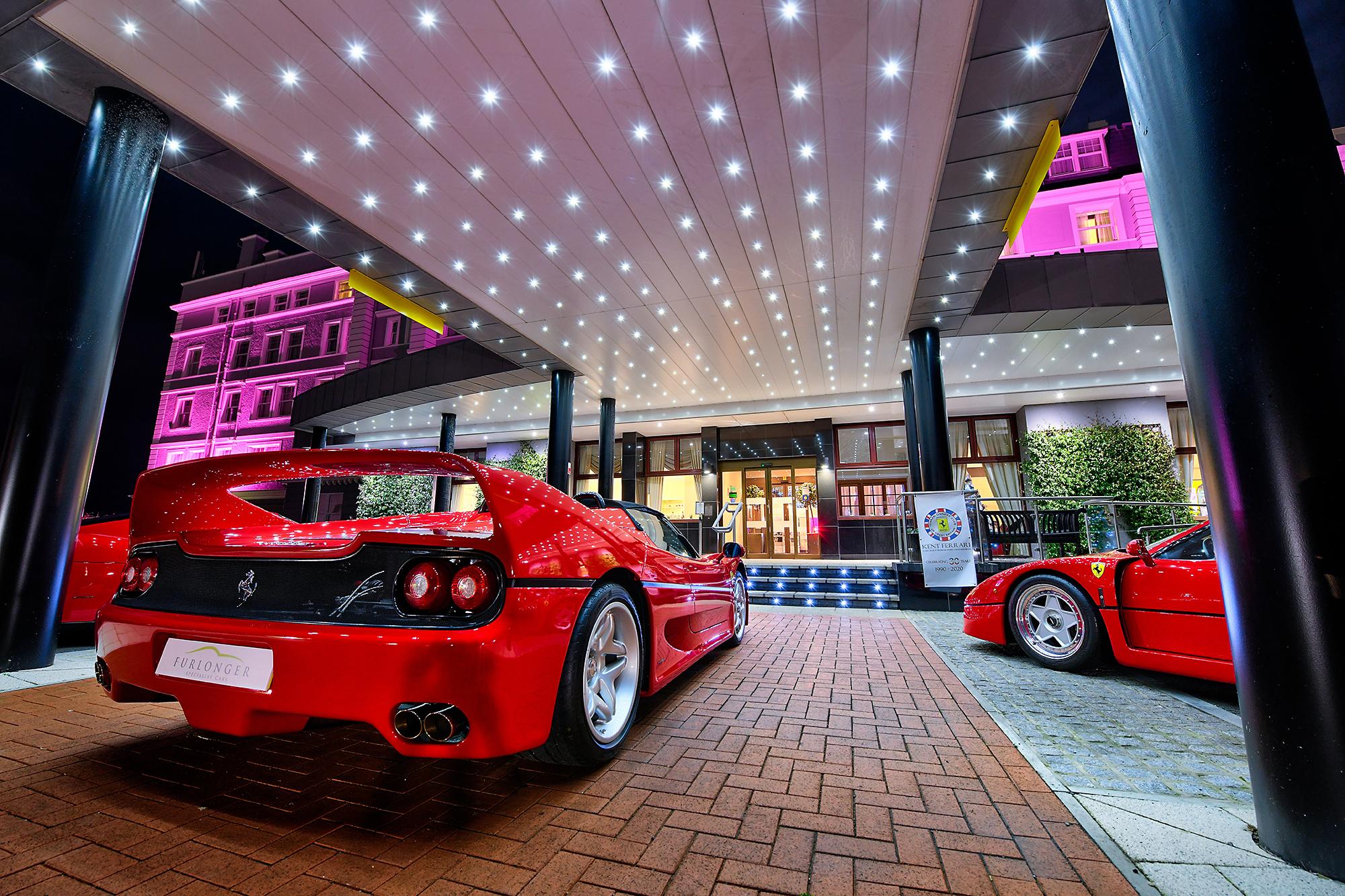 HDR photographic image - Ferrari F50