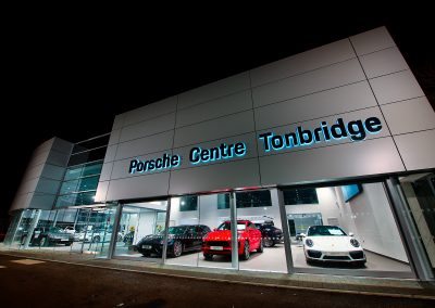 Automotive Dealership Photography | Tonbrdige Porsche | HDR Photography