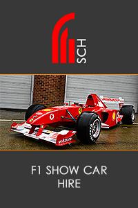F1 Show Car Hire