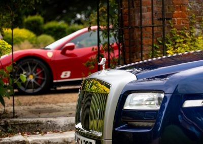 Automotive Photography | Vehicle Detailing | Vehicle Valeting | Rolls Royce Ghost | Ferrari 488 Pista Piloti