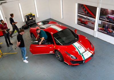 Ferrari 488 Pista Piloti | Automotive Photography | Dynamic Modifications | Vehicle PPF | Ceramic Coating